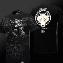 Limited Edition Overwatch 3D Hanzo T-shirt OW Hero Black Tee Shirt
