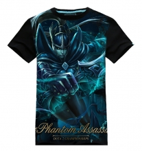 3D DOTA 2 Phantom Assassin T-shirts For Mens