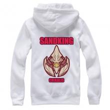 Nice DOTA 2 Sand King White Sweatshirt