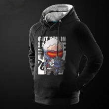 Over Watch Soldier 76 Hoodie Lovely OW Hero Sweatshirt for Him