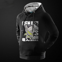 Lovely Cartton Overwatch Genji hoodie High Quality Mens Sweatshirt