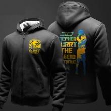 NBA Curry Hoodie For Mens Black Sweatshirt