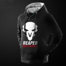 Overwatch Soldier 76 Hoodie Blizzard OW Hero pullover Sweatshirt for Him