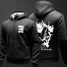EMINEM Sweat Shirts Sudadera con capucha negra para hombre