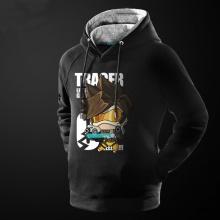 Overwatch Tracer Hero Hoodie Blizzard OW Game Sweatshirt For Him