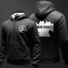 Linkin Park Hoody para los hombres Negro Hoodie