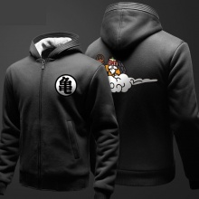 Invierno grueso Kame Sennin DBZ suéter Negro Dragon Ball Z ropa