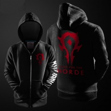 Cool Blizzard WOW Horde Hoodie World Of Warcraft Hoode Coat For Him
