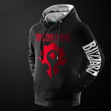 WOW For the Horde Hoodie World Of Warcraft Pullover Sweatshirt For Youth