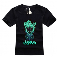 Q Version LOL Tees Thresh T Shirts For Boys