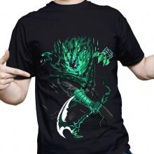 Diseño fresco de la liga Negro de leagends Thresh las camisetas para hombre