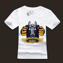 White LOL Blitzcrank T-Shirts For Boys