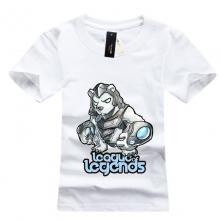 LOL Volibear T-shirts White Mens Tees