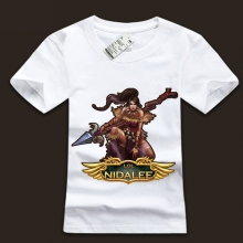 High Quality LOL The Bestial Huntress Nidalee T-Shirts Unisex