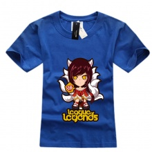 Mens Black League Of Leagends Ahri T-shirts