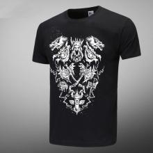 Worldofwarcraft WOW Black Tshirts For Mens