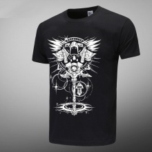 World Of Warcraft WOW Black Mens Tshirts