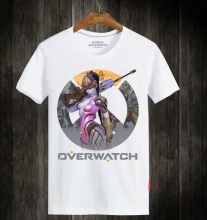 Blizzard Overwatch Widowmaker White T-Shirts