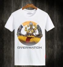 Overwatch Zenyatta White Short Sleeve T-Shirts