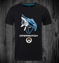 Overwatch Pharah Black T-shirts For Mens