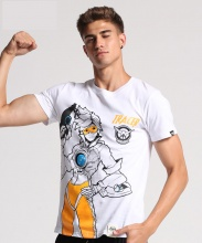 Overwatch Tracer Hero White Plus Size 3xl Tshirts
