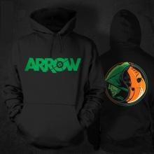 Green Arrow Sweatshirt 3xl Plus Size Mens hoodies
