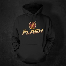 Red Marvel The Flash Hoodies For Mens