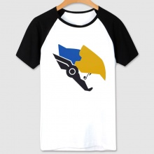 Overwatch Pharah Hero Tees White OW Character T-shirts For Mens and Womens