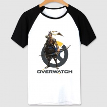 Overwatch Game T-shirts Blizzard Hanzo Hero Tshirts For Male Female