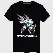 Blizzard Game Over Watch D.Va Tshirts For Young Mens