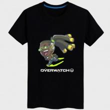 Overwatch lucio Shirt Women black Tshirts
