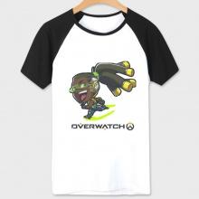 Overwatch lucio Character Tee Men white Tshirt