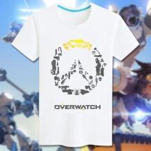 Overwatch Logo Tshirts Women white Tee