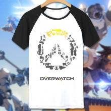 Overwatch Game Logo Tee Shirt Man white T-shirts