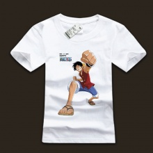 Monkey Luffy One Piece Tshirts For Young Mens