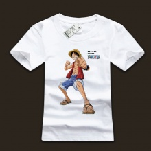 One Piece Luffy Character T-shirts For Mens