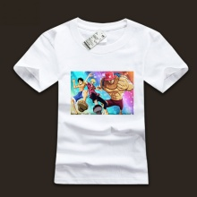 Ink Printed Luffy Family Member T-shirts for Mens