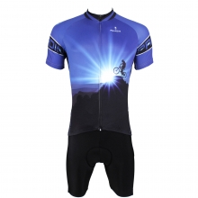The Peakedness Design Cycling Suits Blue mens MTB Bike Jersey
