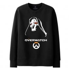 Overwatch Reaper Sweatshirt Mens black Hoodie