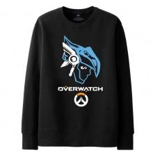 Overwatch Pharah Sweatshirts Men black Hoodie
