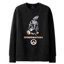 Overwatch Roadhog Sweatshirt Men black Sweater