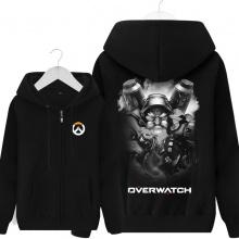 Overwatch Torbjorn Sweatshirt Mens Black Hoodie