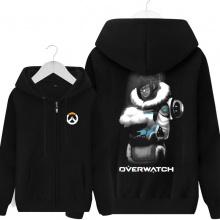 Blizzard Overwatch Mei Hoodie For Mens Black Sweatshirt
