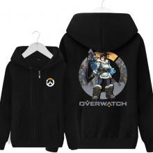Overwatch Mei Sweatshirt Men Gray Hoodies