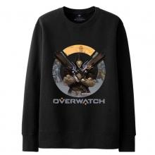 Blizzard Overwatch Reaper Hoodie For Mens black Sweatshirt