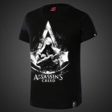 Assassin's Creed Shirts Men Black T shirt