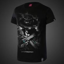 Darkness Overwatch Mccree Tshirts Mens Black Shirt