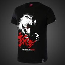 Jack Metal Gear Solid Tshirt Men Black Tee
