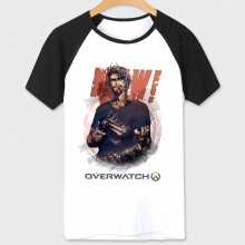 Overwatch Mccree Hero Tshirts white Tee For Boys