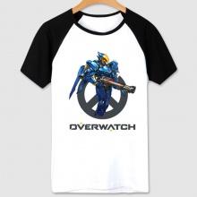 Overwatch Game Pharah T-shirt Women white Tees